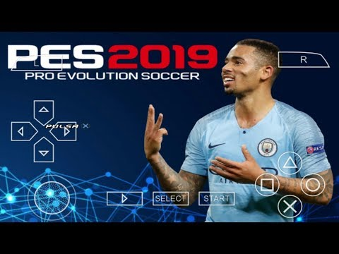 PES 2019 PPSSPP Android Offline 900MB Best Graphics New transfers