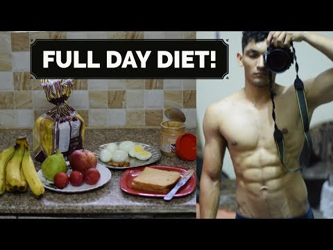 Full Day Of Eating in Hindi | Calisthenics/Bodybuilding Diet in Hindi