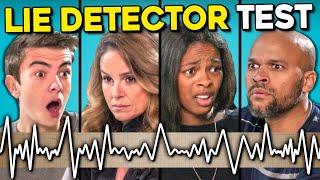 Teens Give Their Parents A Lie Detector Test