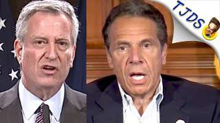 NY Mayor Defends Cops Brutality & Cuomo Condemns It