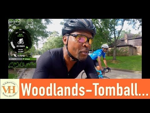 Group Ride Cycling 5122018   Woodlands-Tomball