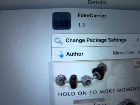 How to change carrier on iPad 3