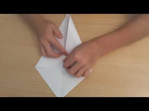 HOW TO MAKE A PAPER SWAN EASY