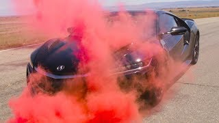 Using Smoke Grenades To Understand Acura NSX Aerodynamics