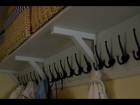 DIY: How to Build a Wall-Mounted Coat Rack For Under $52