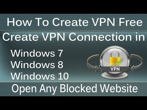 How To Setup VPN Connection in Windows 7,Win 8 and Win 10 - Urdu/Hindi