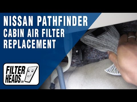 How to Replace Cabin Air Filter Nissan Pathfinder 2013-2016