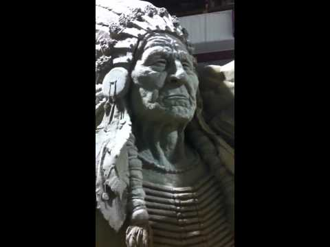 Native sand sculpture