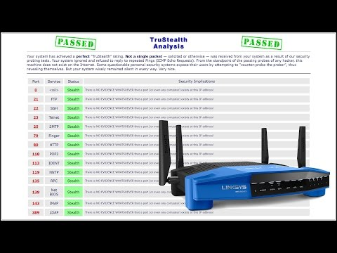 LEDE / OpenWRT Stealth Router Ports