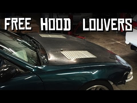 Free S14 Hood Louvers!!