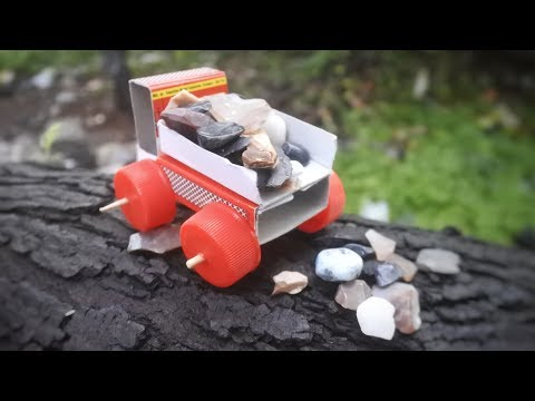 HOW TO MAKE MATCHBOX DUMP TRUCK