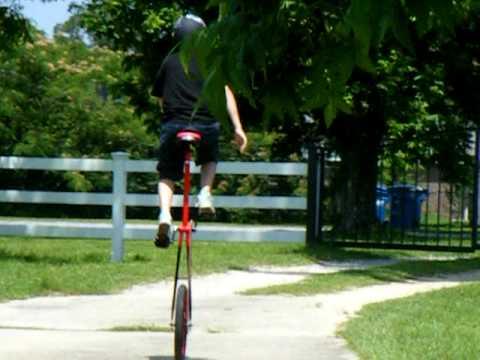 Blake 5ft unicycle.avi