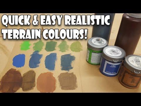 Easy Realistic Terrain Colours