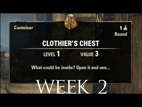 Clothing Hireling Week 2 Elder Scrolls Online