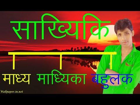 माध्य   निकालने  का तरीका (How to solve  mean median mode in hindi..) BY ANIL KUMAR YADAV SURAJ