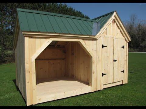 Firewood Storage Shed 6x14 Vermont Gem Western Red Cedar Hand Split Shakes