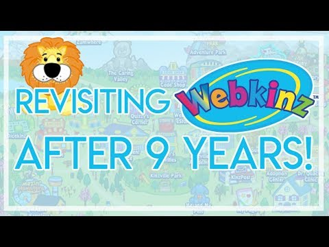 Checking 9 Year Old Webkinz Account + Lion Adoption!