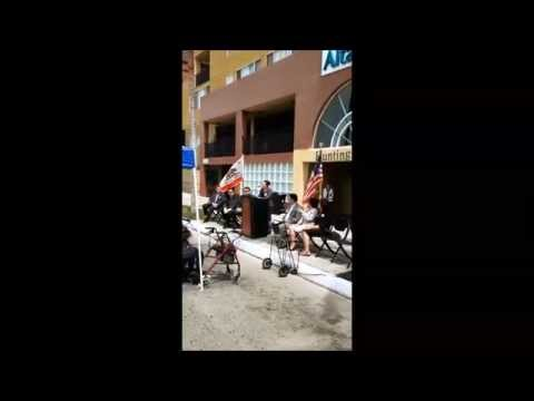 Huntington Plaza Grand Opening Video   Irene Muro, Oldtimers Housing Development Corp