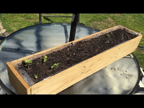 How to Make a Window Box from Pallet Wood