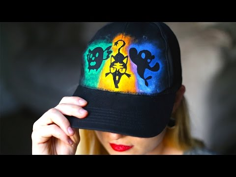 How To Make A Pokemon Sun and Moon Hat! Starters Rowlet, Litten, and Popplio!