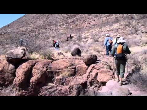 Hiking in Big Bend Ranch State Park, March 2012.mp4