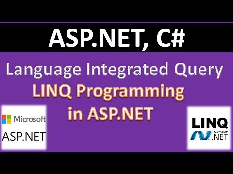 Language Integrated Query (LINQ) in ASP.NET with example