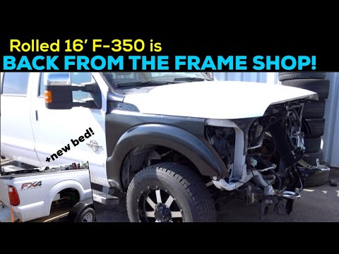 MY ROLLED/SALVAGE 2016 Ford F-350 IS BACK!