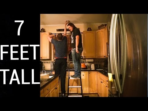WHY ITS FUN TO BE TALL (as a 7 foot guy)