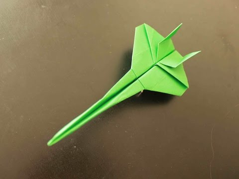 How to Make a Star War Origami Paper Plane: Instruction