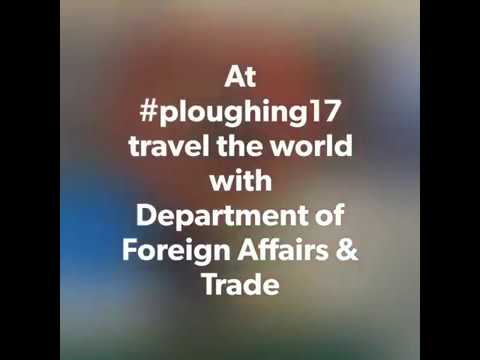Department of Foreign Affairs and Trade Tent Tour