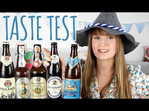 Oktoberfest Beer Taste Test