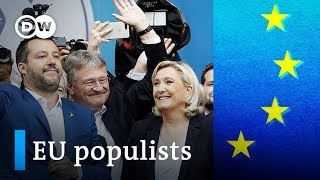 Download EU election: Who are the populists aiming to disrupt the EU? | DW News Video