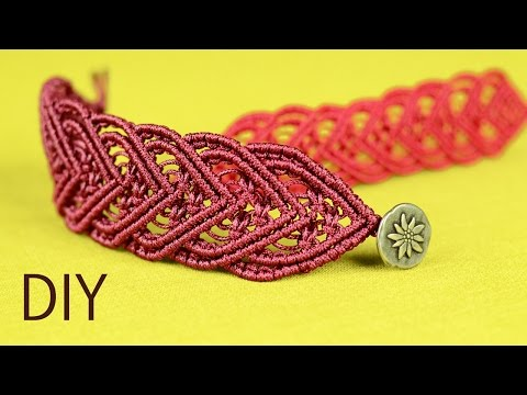 Amazing Macramé Heart Bracelet Tutorial ❤