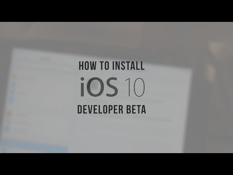 How to Install iOS 10 Developer Beta! (without Dev account)