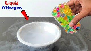 Orbeez Balls In Liquid Nitrogen | कमाल हो गया जब तरल नाइट्रोजन में डाली पानी की गोलियां |
