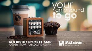 Palmer Pocket Amp Acoustic - Portable Preamp For Acoustic String Instruments