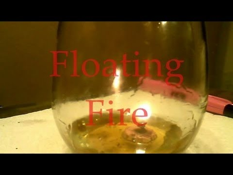 Homemade Floating Oil Candle Wick