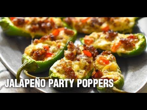 Stuffed Jalapeño Party Poppers Recipe by Swaggerty's Farm
