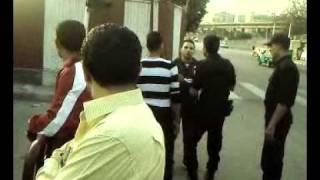 نقيب في الجيش يضرب ضباط مروره ومواطين مصري في العباسيه