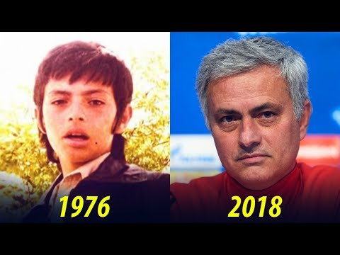 José Mourinho - Transformation From 1 To 55 Years Old