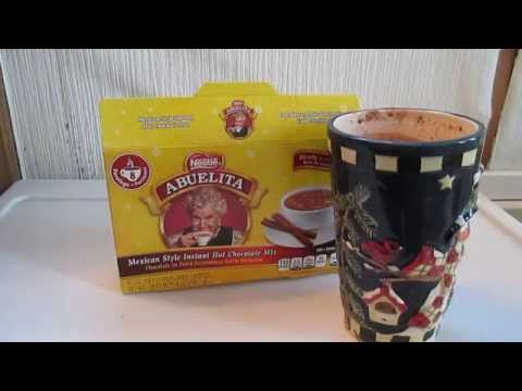 Mexican Style Hot Chocolate Review (Abuelita)