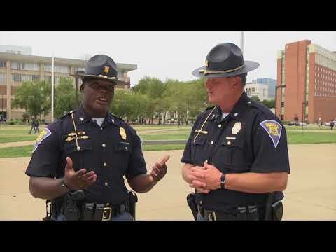 Indiana State Police - 2017 SPEA Public Safety Career Day at IUPUI