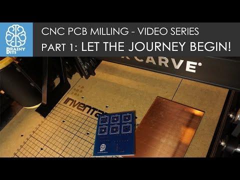 CNC PCB Milling! Part 1: Let the Journey begin!