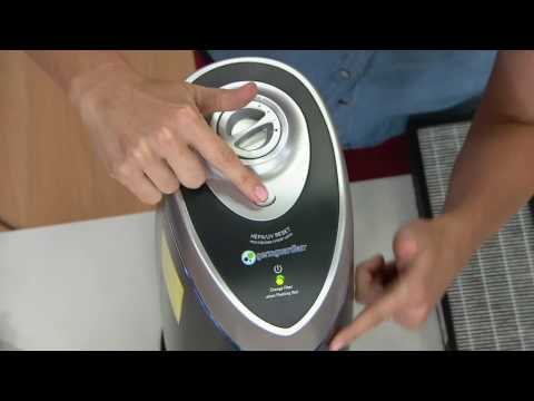 GermGuardian 3-in-1 HEPA Air Purifier w/UV-C Light & Carbon Filter on QVC