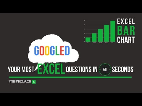 Excel Bar Chart: The Fastest Way to Create a Bar Chart in Excel