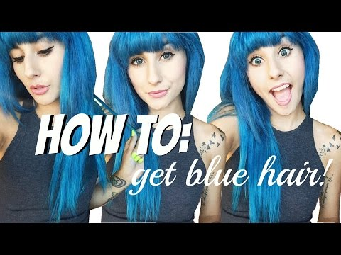 Ion Color Brilliance Brights review + demo: how to get blue hair!