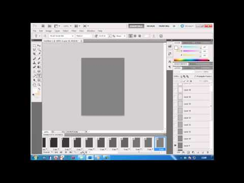 How to create a mobile screensavers in Photoshop