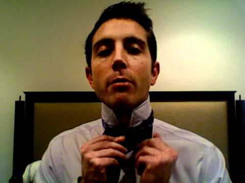 How To Tie A Bow Tie  - the easy way