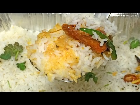How to Make Baked Fish Biryani - Dum Biryani
