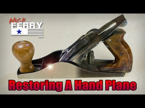 Ⓕ How To Restore A Hand Plane (ep49)